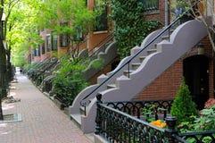 Boston-Südende Stockfotos