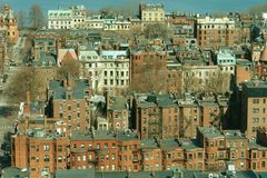 Boston's Back Bay Stock Photography