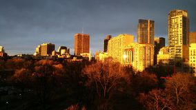Boston Golden Hour Royalty Free Stock Photos