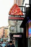 Boston's Little Italy stock photo
