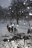 Boston-Schnee-Sturm Lizenzfreies Stockbild