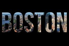 Boston sign Stock Photos