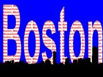 Boston skyline Royalty Free Stock Image