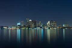 Boston Skyline stock photography