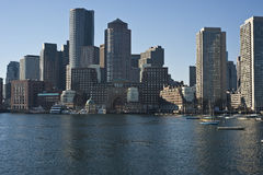Boston skyline Royalty Free Stock Photos