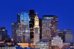 Boston Skyline Royalty Free Stock Photos