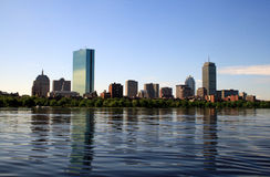 Boston-Skyline Lizenzfreie Stockfotos