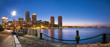 Free Boston Skyline Royalty Free Stock Photography - 28465757