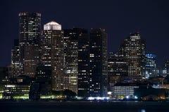 boston skyline Στοκ φωτογραφία με δικαίωμα ελεύθερης χρήσης