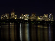 Boston Skyline on the Charles River 1 Stock Photography