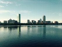 Boston Skyline. City of Boston skyline Royalty Free Stock Photo