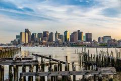 Boston skyline Royalty Free Stock Photography