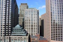Boston Skyline Detail Stock Images