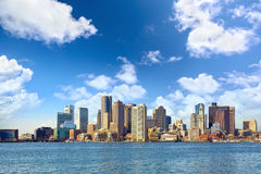 Boston skyline Royalty Free Stock Image