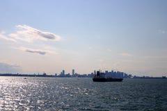 Boston skyline, Inner Harbor, USA Stock Photos