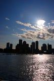Boston skyline, Inner Harbor, USA Royalty Free Stock Photography