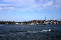 Boston skyline, Inner Harbor, USA Stock Image