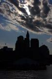 Boston skyline, Inner Harbor, USA Stock Photography