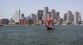Boston skyline, Inner Harbor Stock Image