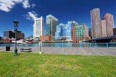 Boston skyline. Massachusetts in the United States stock photo