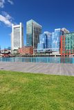 Boston skyline. Boston, Massachusetts in the United States. City skyline stock photo