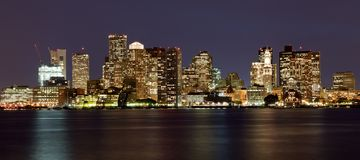 Boston skyline, Massachusetts, USA Royalty Free Stock Image