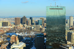 Boston Skyline, Massachusetts, USA Stock Photos
