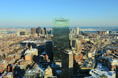 Boston Skyline, Massachusetts, USA Stock Photo