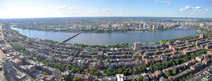 Boston Skyline panorama, Massachusetts, USA Royalty Free Stock Photography