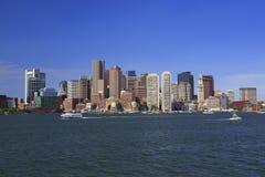 Boston-Skyline, USA stockfotos