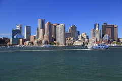 Boston skyline, USA Royalty Free Stock Photos
