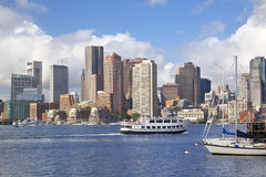 Boston skyline, USA royalty free stock photo
