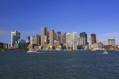 Boston skyline, USA stock photos