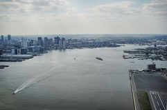 Boston skyling Image stock