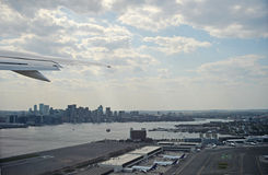 Boston skyling Photo stock