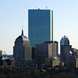 Boston skyscrapers. Boring image of boston skyline Royalty Free Stock Photos