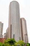 Boston Skyscrapers. Skyscrapers, modern architecture in central Boston, USA stock photography