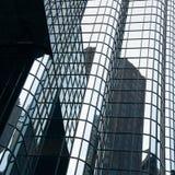 Boston skyskrapaslut upp Fotografering för Bildbyråer
