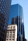 boston skyskrapor arkivfoton