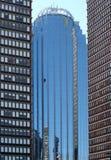 boston skyskrapor arkivbild
