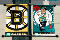 Boston Sports Banners Royalty Free Stock Photos