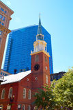 Boston spotkania domu Stary Południowy historyczny miejsce fotografia royalty free