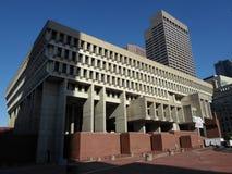 Boston stadshus, stad Hall Plaza, Boston, Massachusetts, USA Royaltyfri Fotografi