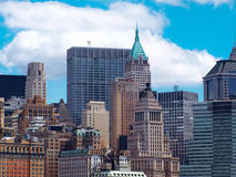 Boston-Stadt-Skyline Stockbilder