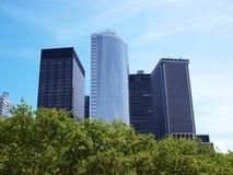 Boston-Stadt-Skyline Lizenzfreie Stockfotografie