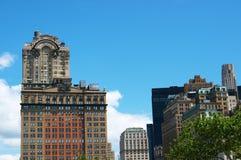 Boston-Stadt-Skyline Stockfoto