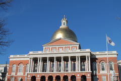 Boston-Statehouse Lizenzfreie Stockbilder