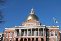 Boston Statehouse royalty-vrije stock afbeeldingen