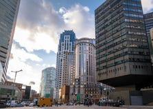 Boston Street Buildings - Boston, Massachusetts, USA. Boston Street Buildings in Boston, Massachusetts, USA Stock Photography