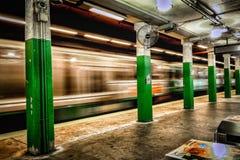Boston subterrânea Imagem de Stock Royalty Free